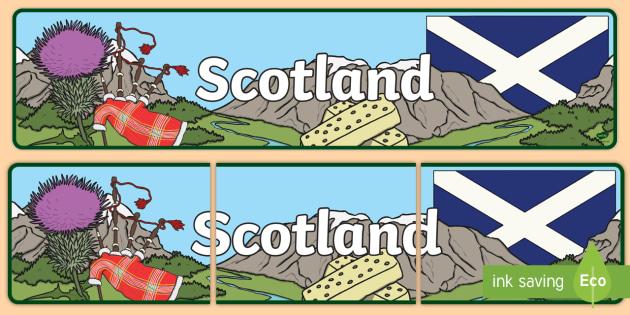 Image result for scottish banner