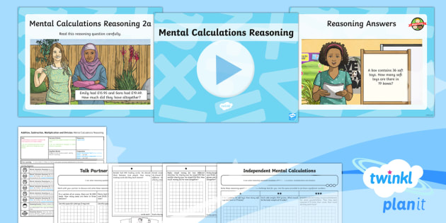 PlanIt Maths Y6 Addition, Subtraction, Multiplication and Division Lesson Pack Mental Calculations (6) - Addition, Subtraction, Multiplication and Division, mental calculations, reasoning, mathematical rea