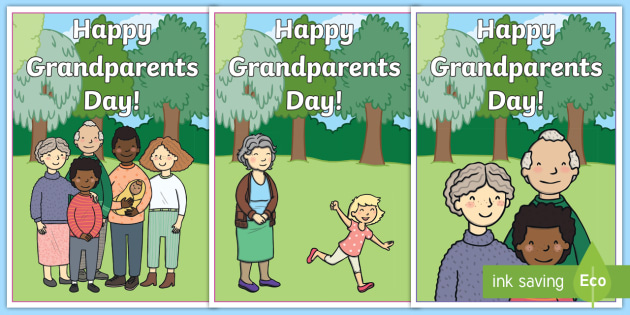 new happy grandparents day cards eyfs key stage one ks1
