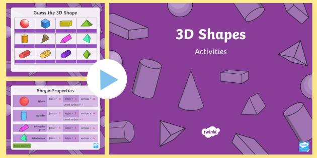3d shapes powerpoint australia maths resource