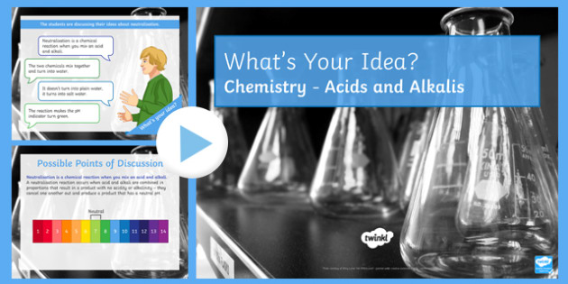 KS3 Acids and Alkalis What's Your Idea? PowerPoint