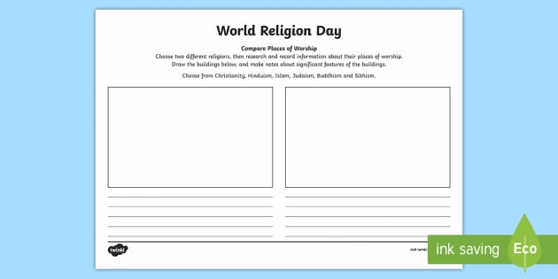 ks2 world religion day 15th jan compare places of worship. Black Bedroom Furniture Sets. Home Design Ideas