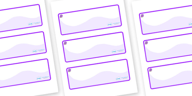Amethyst Themed Editable Drawer-Peg-Name Labels (Colourful) - Themed Classroom Label Templates, Resource Labels, Name Labels, Editable Labels, Drawer Labels, Coat Peg Labels, Peg Label, KS1 Labels, Foundation Labels, Foundation Stage Labels, Teaching