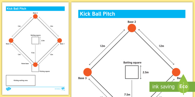 How To Set Up A Kick Ball Pitch Adult Guidance Kicking