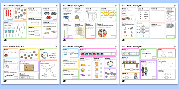 1 Summer 1 Maths Activity Mats