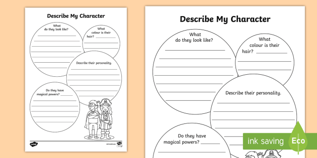 FREE! - Character Profile Writing Template - English Resource - Twinkl
