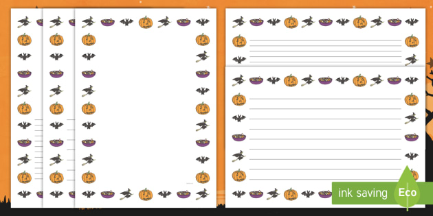 halloween page borders halloween page borders writing halloween page borders halloween page borders writing borders pumpkin witch