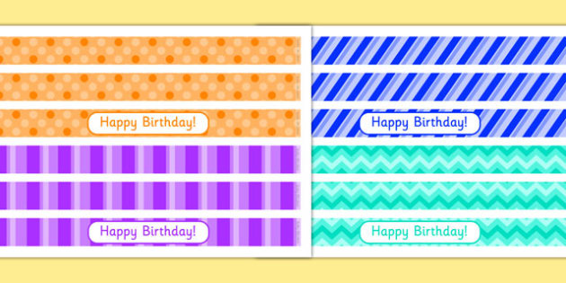 6th Birthday Party Cake Ribbon - 6th birthday party, 6th birthday, birthday party, cake ribbon