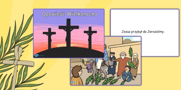 Gra karciana Opowieść Wielkanocna po polsku - karty, święta