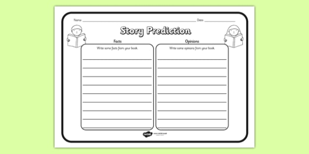 Fact And Opinion Comprehension Worksheet - fact, opinion, comprehension, comprehension worksheet, character, discussion prompt, reading, discussions