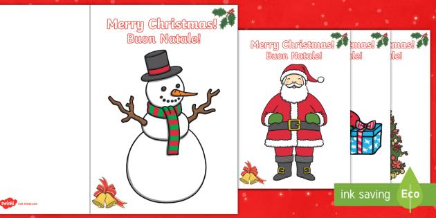 Christmas card templates englishitalian christmas card christmas card templates englishitalian christmas card templates eal italian m4hsunfo