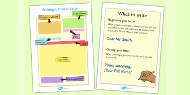 Writing A Formal Letter Prompts - writing a formal letter, prompts, formal letter, writing, formal, formally, prompt, help, aid, how to write a formal letter