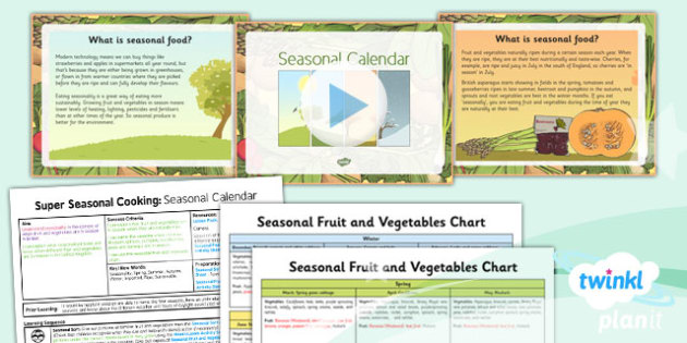 d t super seasonal cooking seasonal calendar uks2 lesson pack