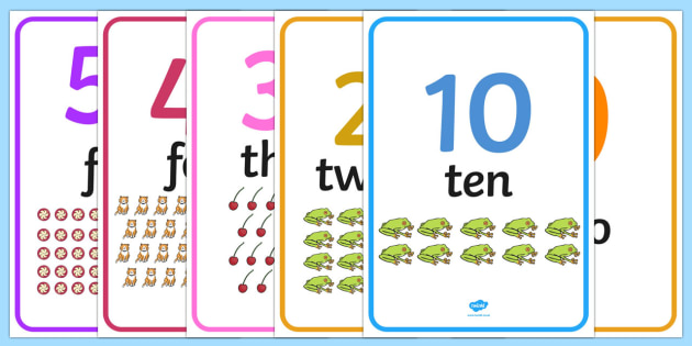 0 50 Number Word Image Posters - display, sign, zero, fifty, numbers, maths, letters, early years, KS1, KS2