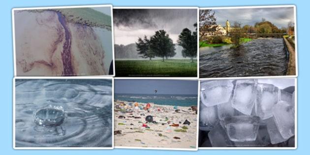 Water Photo Clip Art Pack - water, photo, clip art, pack, photos