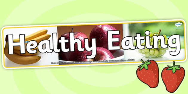 Healthy Eating Photo Display Banner - healthy eating, photo display banner, photo banner, display banner, banner,  banner for display, display photo, display