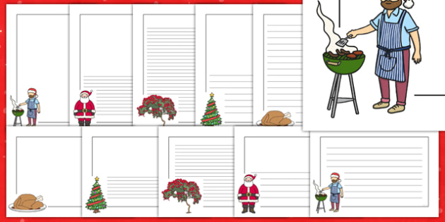 Christmas Page Borders Pack NZ - nz, new zealand, christmas, page borders, pack