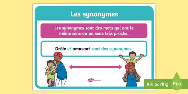 Affiche les synonymes cycle 1 cycle 2 cycle 3 for Egayer synonyme