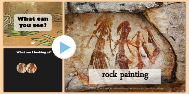 Aboriginal and Torres Strait Islander Art Themed What Can You See PowerPoint