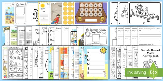 KS1 Summer Holiday Activity Pack - ks1, summer, holiday, activity, pack