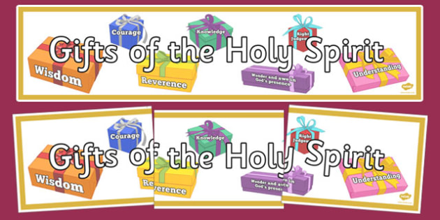 Gifts of the holy spirit display banner gifts of holy spirit gifts of the holy spirit display banner gifts of holy spirit banner display negle Image collections