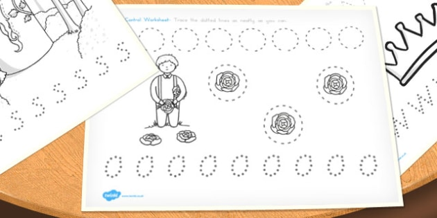 Rapunzel Pencil Control Worksheets - australia, rapunzel, pencil control