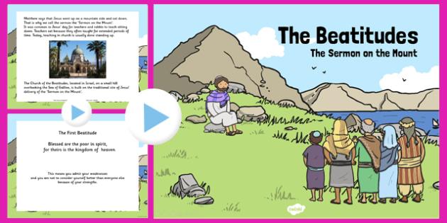 the beatitudes powerpoint