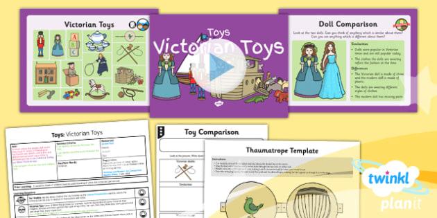 History: Toys: Victorian Toys KS1 Lesson Pack 4