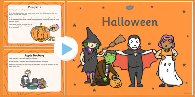 Halloween Information PowerPoint KS1 - halloween, information, powerpoint, ks1