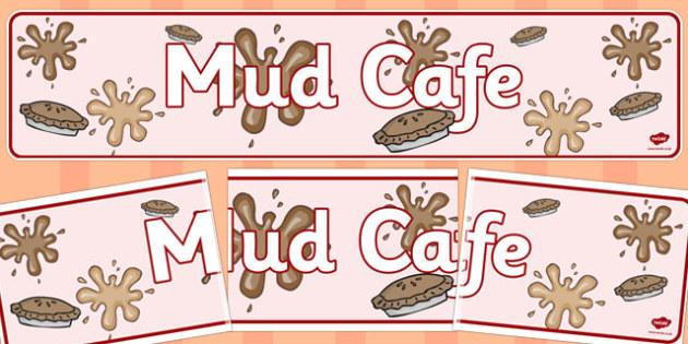 Mud Cafe Banner - mud caf