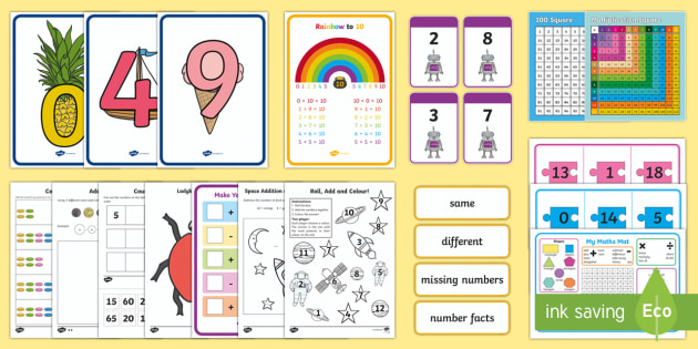 Integration Aide Maths Skills Intervention Lesson Pack-Australia