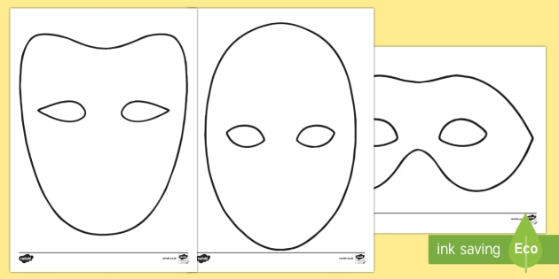 Mask worksheet