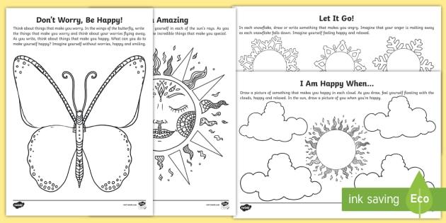 Mindfulness Focus Worksheet / Worksheets - mindfulness ...