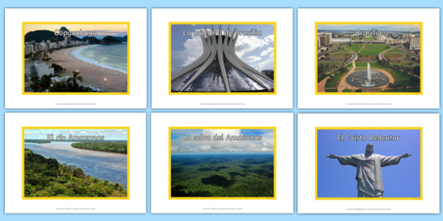 Brazil Display Photos - Spanish