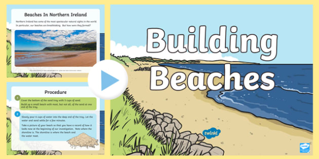 Building Beaches STEM PowerPoint
