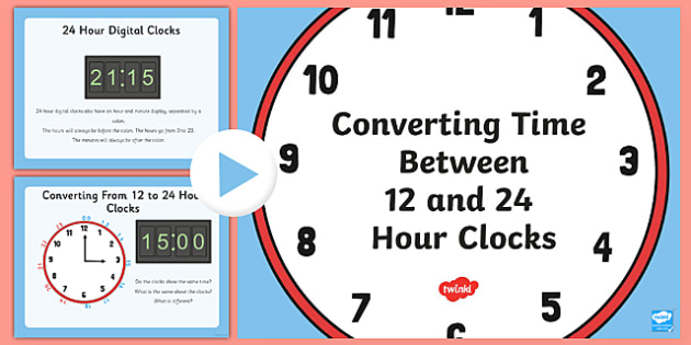 12 and 24 hour clock conversion 12 24 hour clock 12 and 24 hour clock conversion 12 24 hour clock conversion toneelgroepblik Image collections