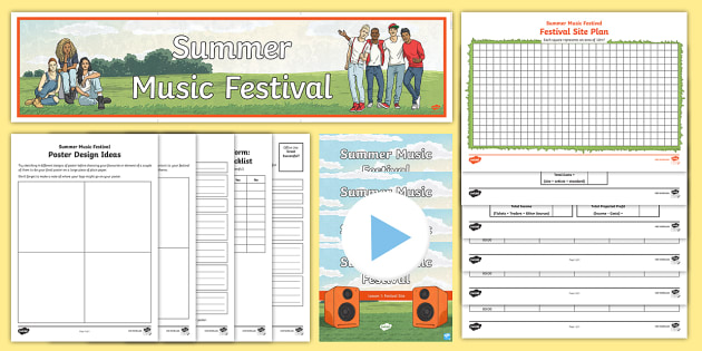 project plan music festival Festivals and folklife: project planning  languages, music, dance, celebrations, and special  very important to how you plan a festival.