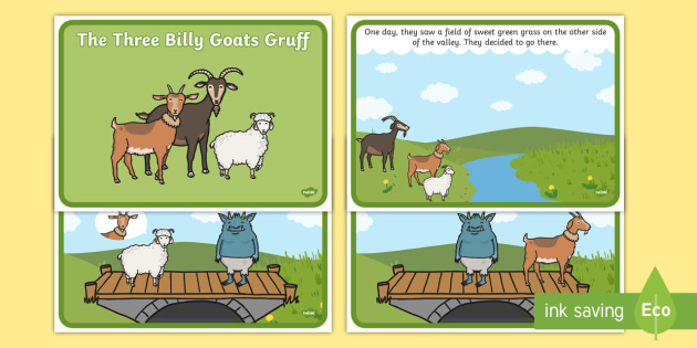 The Three Billy Goats Gruff Story - Three Billy Goats Gruff, traditional