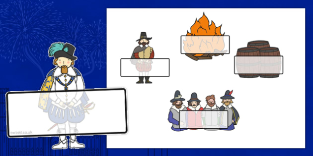 Editable Self Registration Labels (The Gunpowder Plot) -  Self registration, register, editable, labels, registration, child name label, printable labels, The Gunpowder Plot, bonfire night, Guy Fawkes, Houses of Parliament