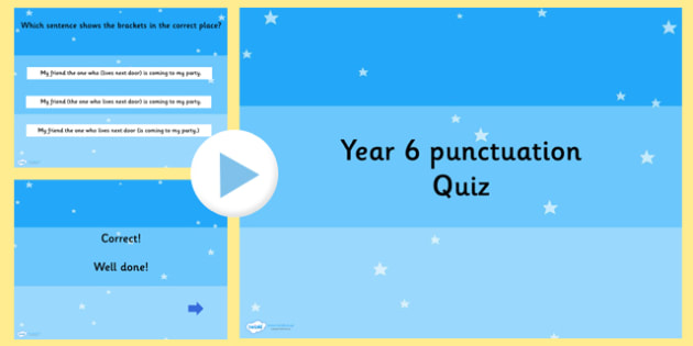 Year 6 SPaG PowerPoint Quiz 2 - year 6, powerpoint, SPaG, quiz