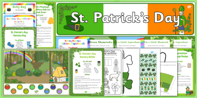 Childminder St Patricks Day Resource Pack - St Patrick's Day, childminder, resource pack