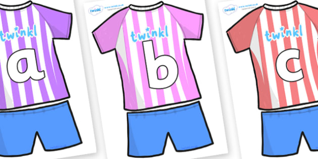 Phoneme Set on Football Strip - Phoneme set, phonemes, phoneme, Letters and Sounds, DfES, display, Phase 1, Phase 2, Phase 3, Phase 5, Foundation, Literacy