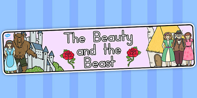 The Beauty and the Beast Display Banner - australia, display