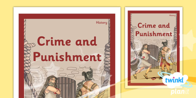 History: Crime and Punishment LKS2 Unit Book Cover