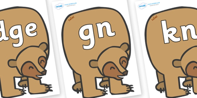 Modifying E Letters on Brown Bear to Support Teaching on Brown Bear, Brown Bear - Modifying E, letters, modify, Phase 5, Phase five, alternative spellings for phonemes, DfES letters and Sounds