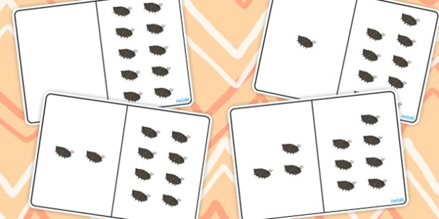 Woodlouse Counting Number Bonds to 10 - number, bonds, counting