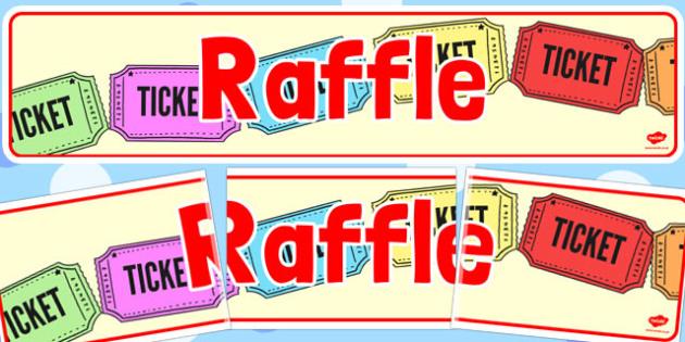 Summer fair raffle prizes