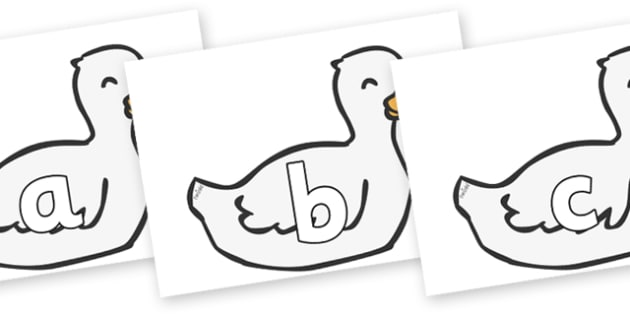 Phoneme Set on Mother Duck - Phoneme set, phonemes, phoneme, Letters and Sounds, DfES, display, Phase 1, Phase 2, Phase 3, Phase 5, Foundation, Literacy