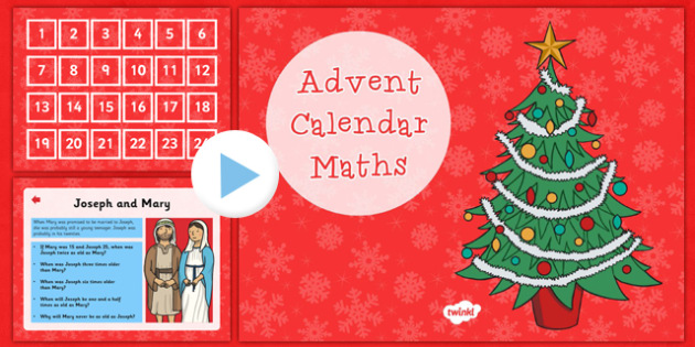 what is advent calendar
