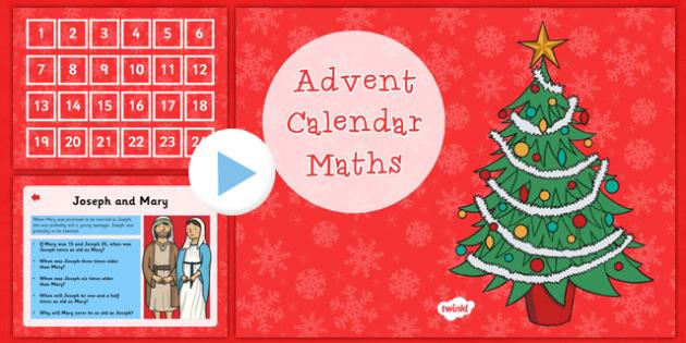 Advent Calendar Maths Challenges LKS2 - advent, calendar, maths, challenges, lks2